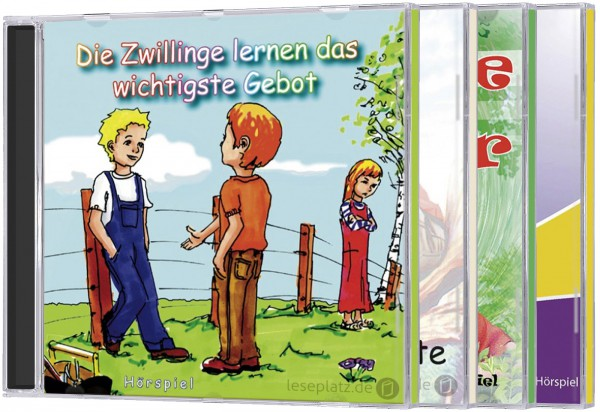 """Die Zwillinge"" - Set (4 CDs)"
