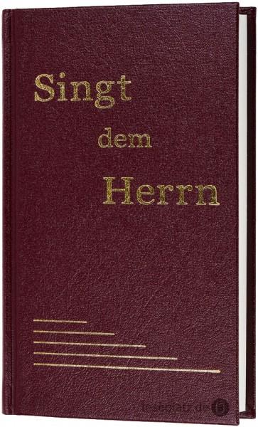 Singt dem Herrn