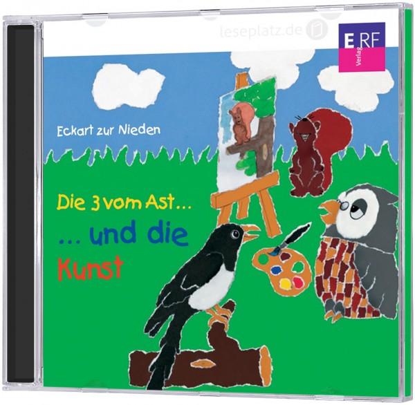 Die 3 vom Ast ... und die Kunst - CD