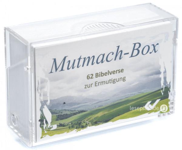 Kleiner Mutmacher - Bibelverse-Box