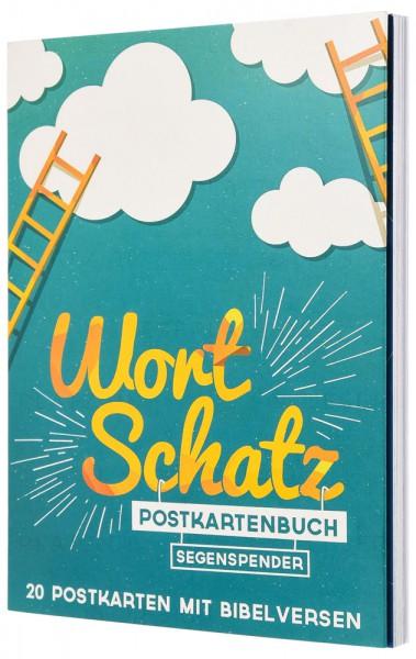 """WortSchatz """"Segenspender"""" - Postkartenbuch"""