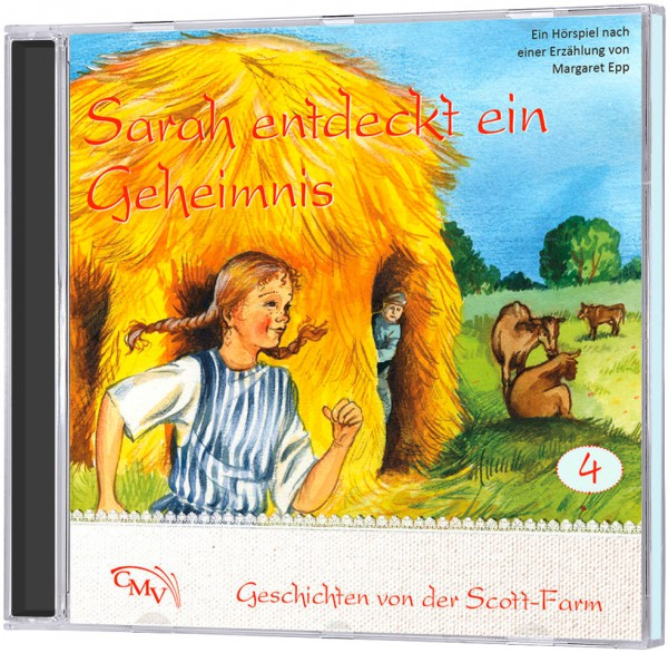Sarah entdeckt ein Geheimnis (4) - CD