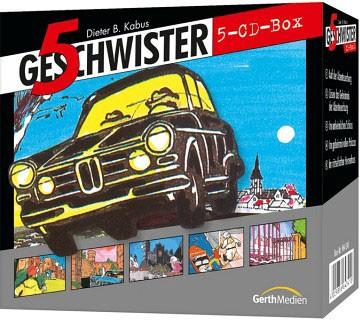 5 Geschwister CD-Box 1 (Folge 1-5)