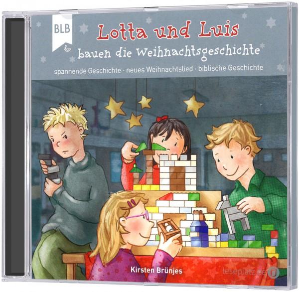 Lotta und Luis bauen die Weihnachtsgeschichte - CD