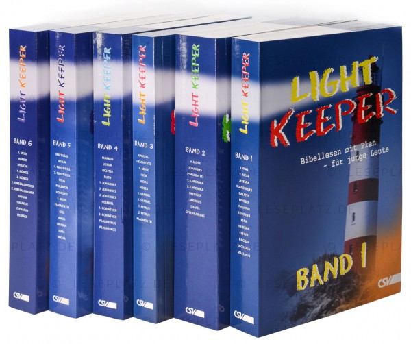 LightKeeper-Paket (Band 1-6)