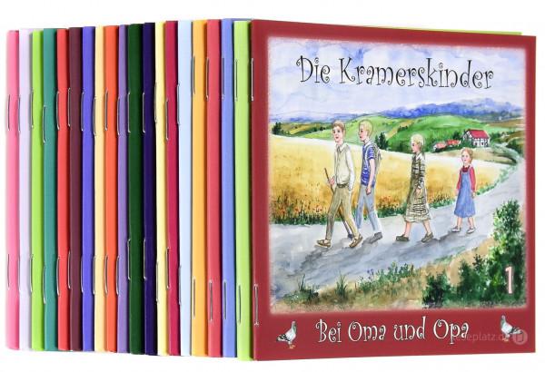 Die Kramerskinder - 20 Hefte im Set