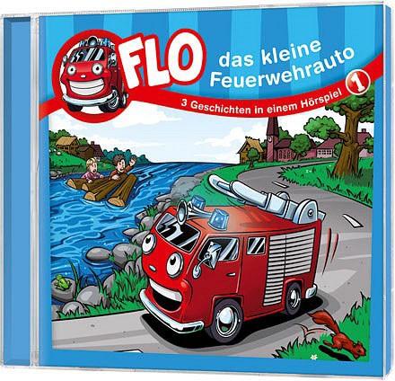 Flo - Das kleine Feuerwehrauto (1) - CD