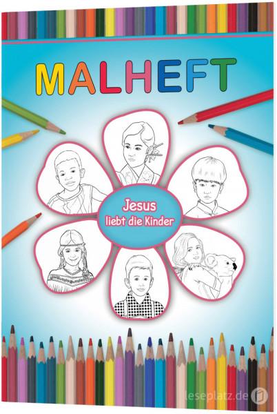 """Malheft """"Jesus liebt die Kinder"""""""