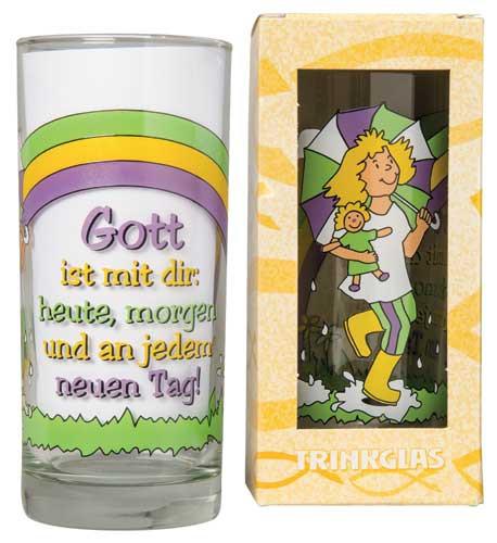 Trinkglas ''Mädchen''