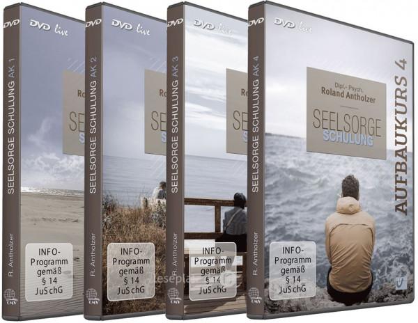 Seelsorge Schulung Aufbaukurs 1-4 (4 DVDs)