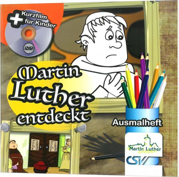 Martin Luther entdeckt - Ausmalheft inkl. Kurzfilm