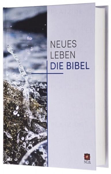 """Neues Leben. Die Bibel - Standardausgabe """"Motiv Lebendiges Wasser"""""""