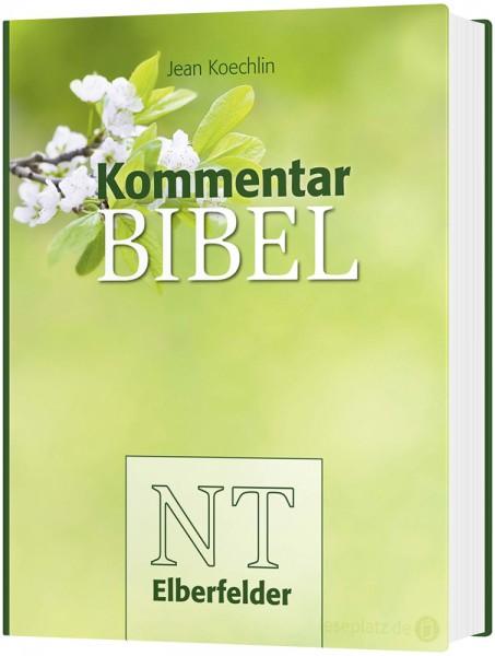 Kommentarbibel ''Blüten'' Elberfelder NT