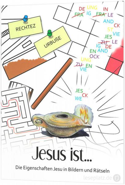 Jesus ist ... - Ausmalheft