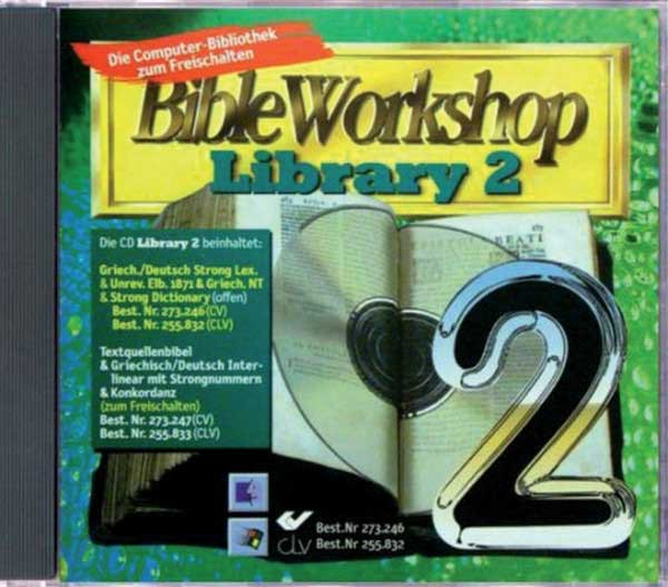 CD-ROM Library 2 - Griech./Deut.Strong-Lexikon & Griechisches NT