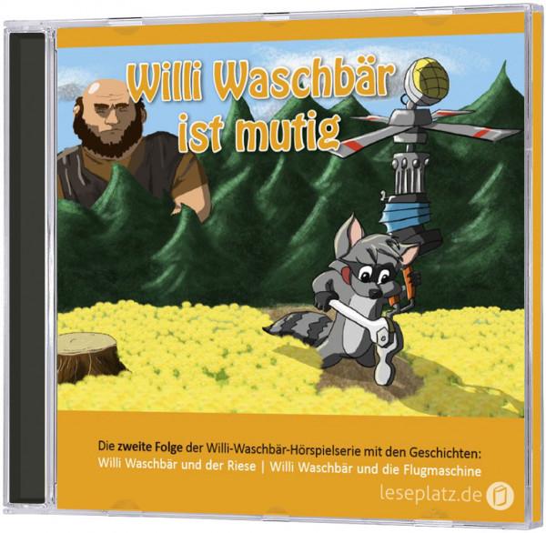 Willi Waschbär ist mutig (2) - CD