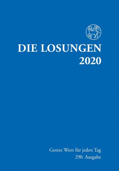 Losungen 2020 dunkelblau - Normalausgabe