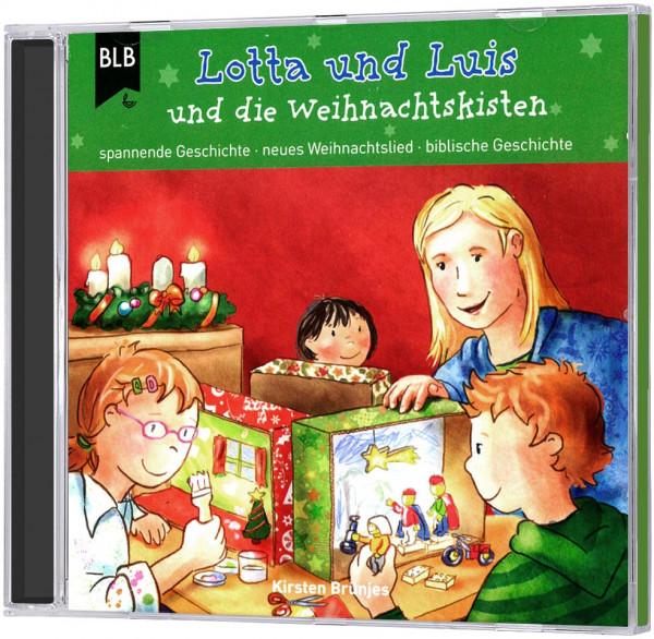Lotta und Luis und die Weihnachtskisten - CD
