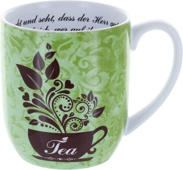 """Tee-Tasse """"Schmeckt und seht"""""""