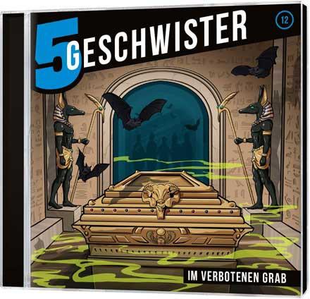 5 Geschwister CD (12) - Im verbotenen Grab