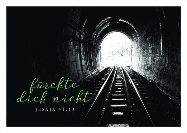 "Postkarte ""Tunnel"""