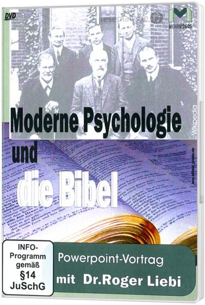 Moderne Psychologie und die Bibel - DVD Powerpoint-Vortrag von Dr. Roger Liebi