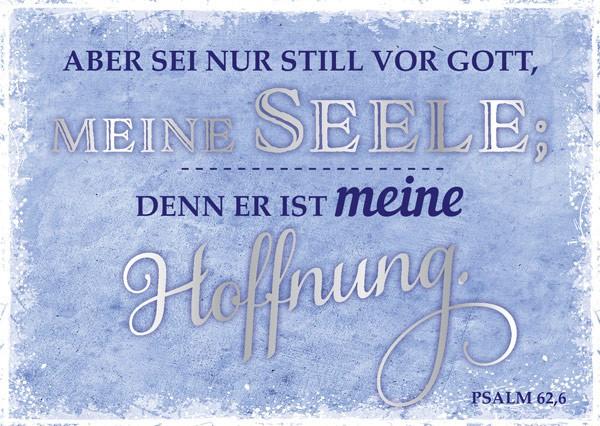 "Postkarte ""Aber sei nur still"""