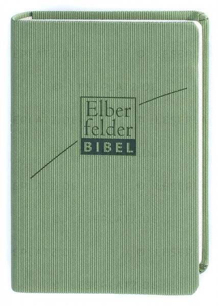Elberfelder Bibel 2006 Senfkornausgabe - ital. Kunstleder verde