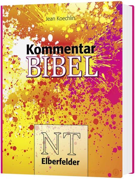 Kommentarbibel ''Bunt'' Elberfelder NT