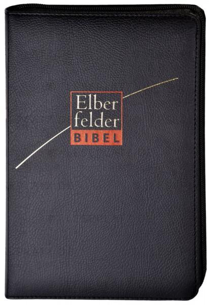 Elberfelder Bibel 2006 Standardausgabe - ital. Kunstleder schwarz mit Reißverschluß
