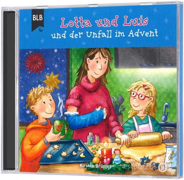 Lotta und Luis und der Unfall im Advent - CD