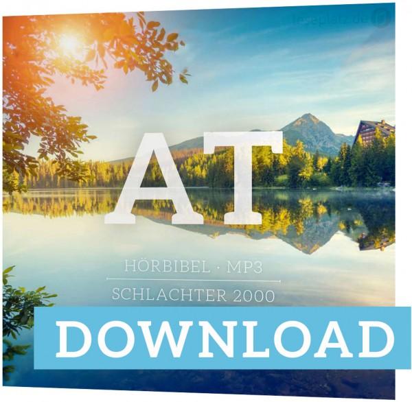 Schlachter 2000 - Hörbibel - Altes Testament - MP3 DOWNLOAD