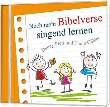 Noch mehr Bibelverse singend lernen - CD