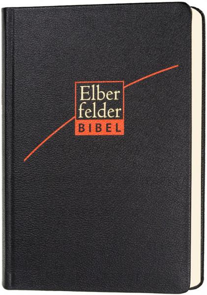 Elberfelder Bibel 2006 mit Schreibrand / Leder schwarz
