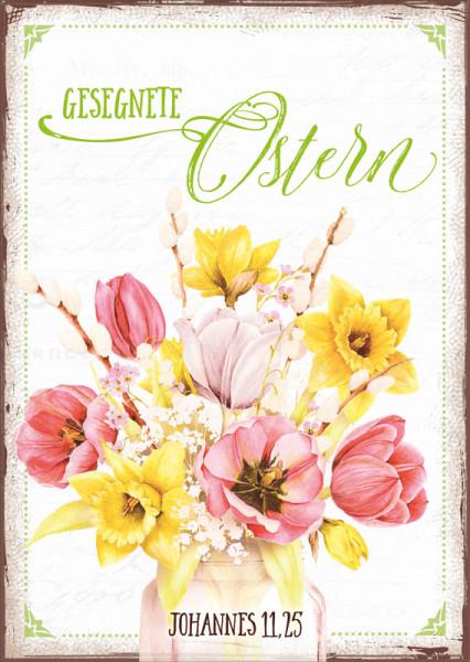 "Postkarte ""Gesegnete Ostern"""