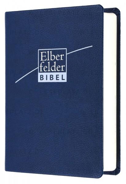 Elberfelder Bibel 2006 Taschenausgabe - ital. Kunstleder blau