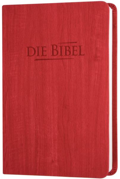 Elberfelder 2003 - Taschenausgabe / PU-Kunstleder rot