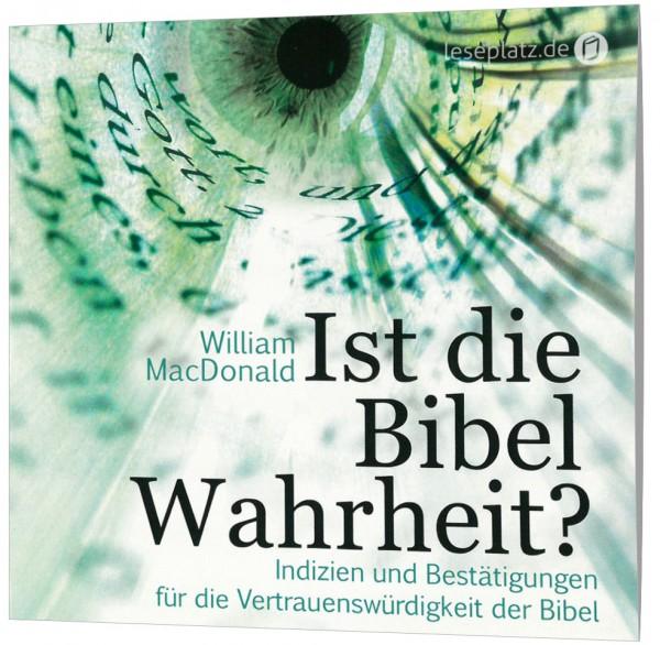 Ist die Bibel Wahrheit? - Hörbuch