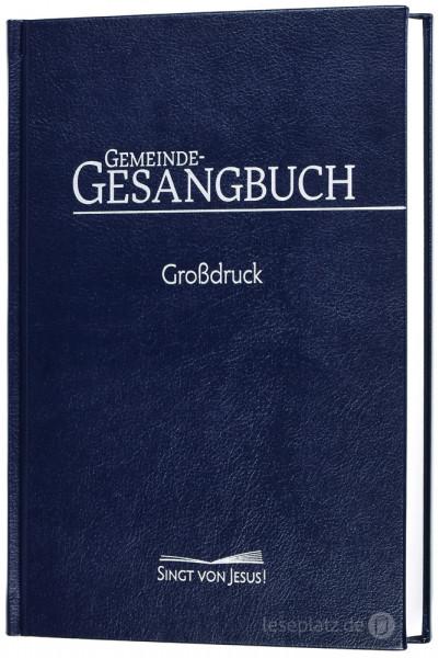 """Gemeinde-Gesangbuch """"Singt von Jesus!"""" - Großdruck"""