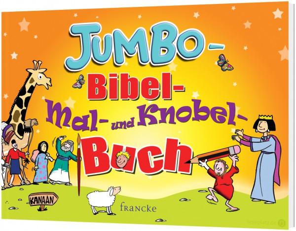 Jumbo-Bibel-Mal-und Knobelbuch