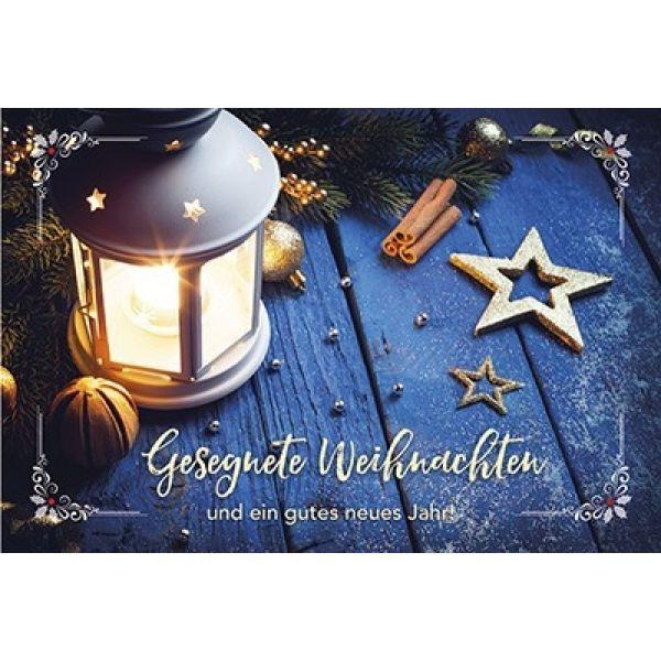 Postkarte: Gesegnete Weihnachten