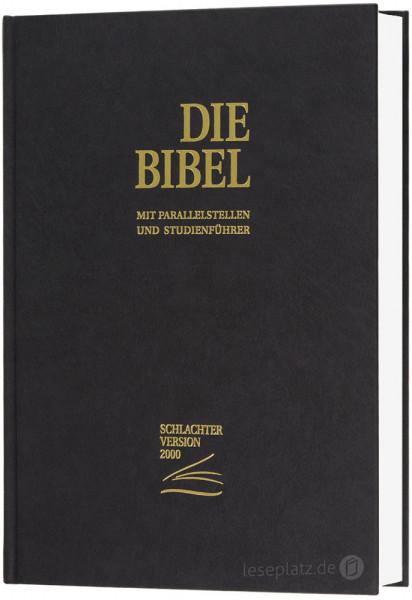 Schlachter 2000 Standardausgabe - Hardcover schwarz