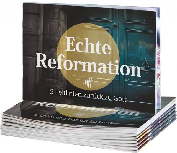 Echte Reformation - Verteilheft (20er-Pack)