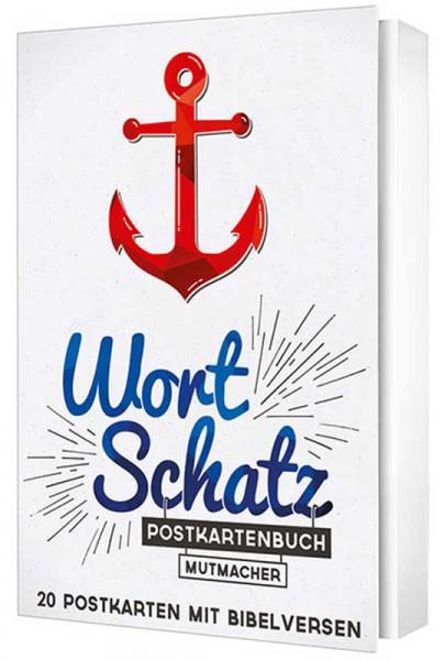 WortSchatz - Postkartenbuch