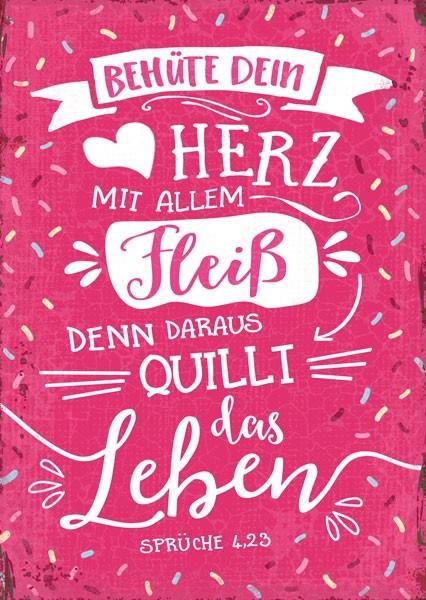 """Postkarte """"Mit allem Fleiß"""""""