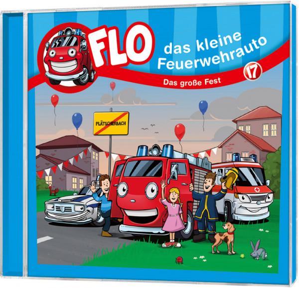 Flo - Das kleine Feuerwehrauto (17) - CD
