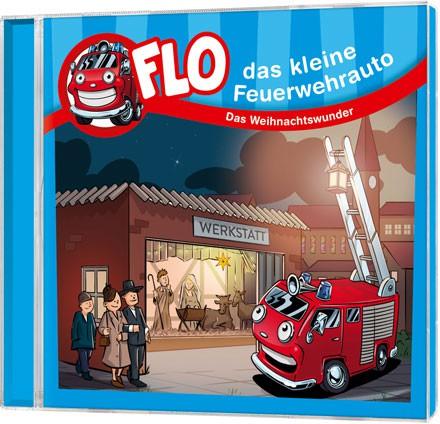 """Flo - Das kleine Feuerwehrauto """"Weihnachten"""" - CD"""
