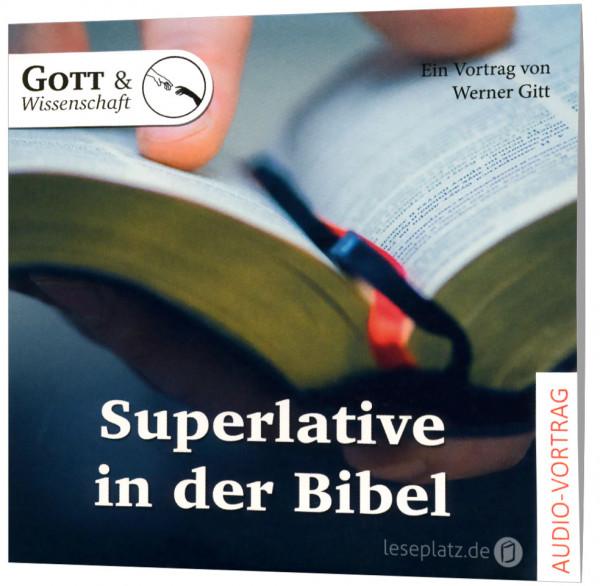 Superlative in der Bibel - CD