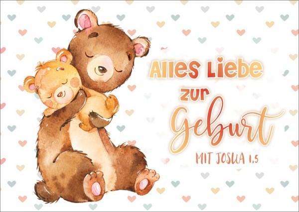 "Postkarte ""Bären Baby"""