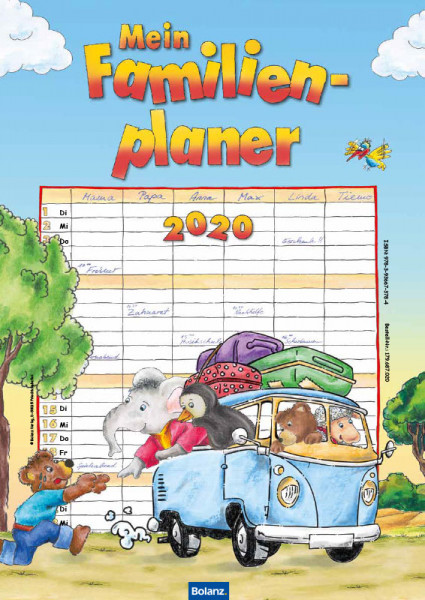 Mein Familienplaner 2020
